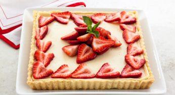 Gâteau au mascarpone aux fraises un dessert gourmand