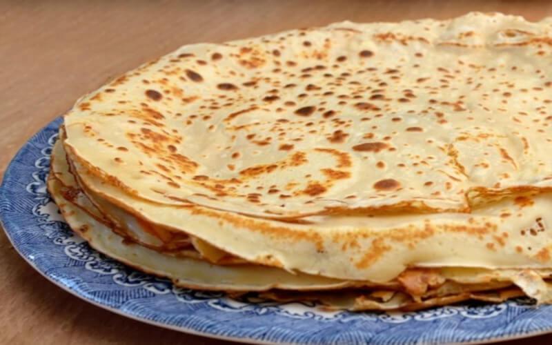 Pâte à crêpes salées rapide et facile à préparer