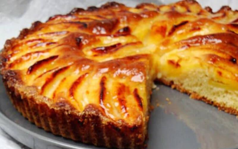 Tarte suisse aux pommes si facile à cuisiner