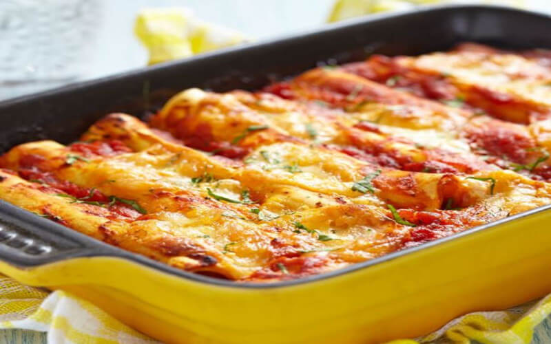 Cannelloni viande hachée à la sicilienne Recette délicieuse