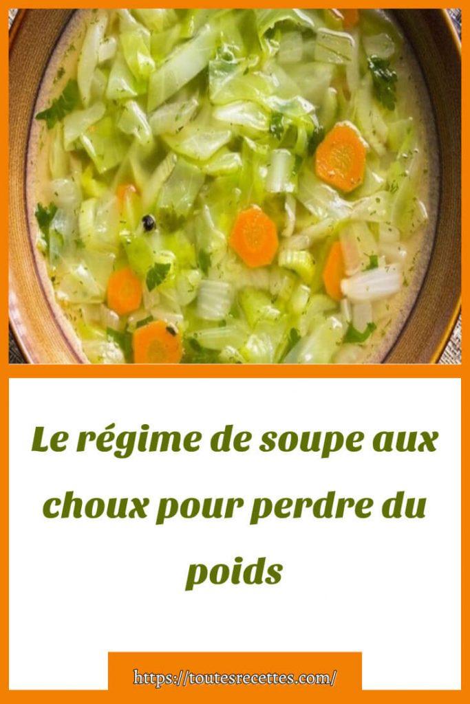 La recette de soupe aux choux