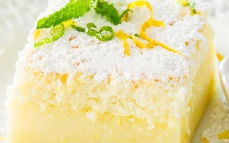 Gâteau Magique au Citron simple et tellement bon