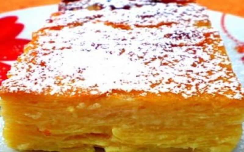 Gâteau invisible pomme-poire facile à faire