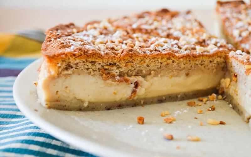 Gâteau magique au praliné excellente recette