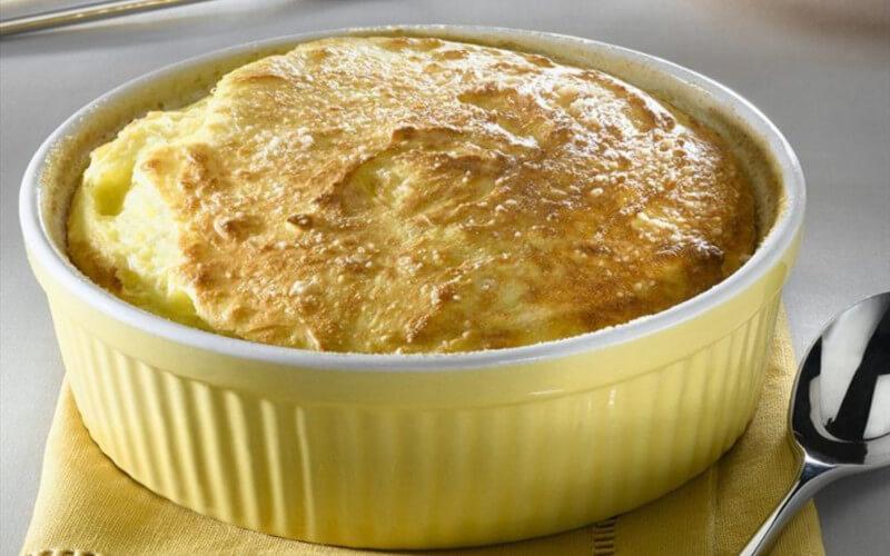 Soufflé de pommes de terre au fromage Aérien et léger