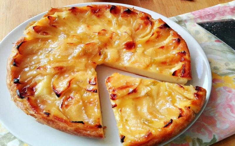 Tarte aux pommes crémeuse ultra gourmande