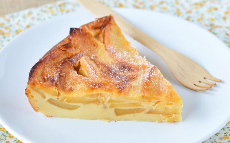 Clafoutis aux pommes recette facile et délicieuse