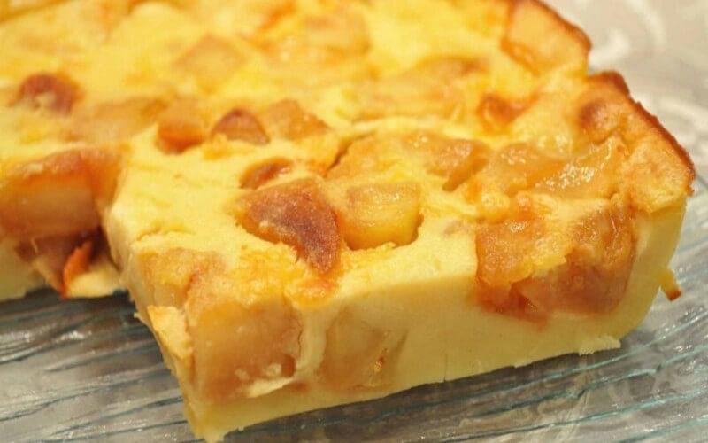 Far aux pommes caramélisées un vrai plaisir