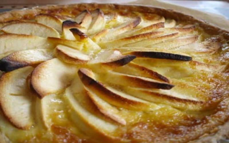 Tarte aux pommes alsacienne ultra facile et délicieuse