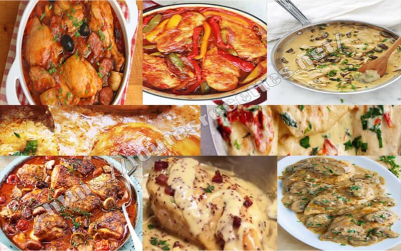 10 Idées recettes pour Cuisiner le poulet