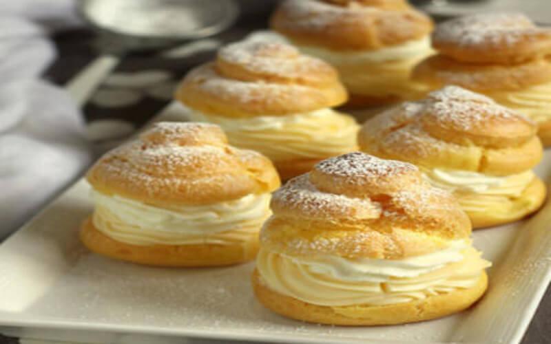 Choux crème pâtissière chantilly recette facile
