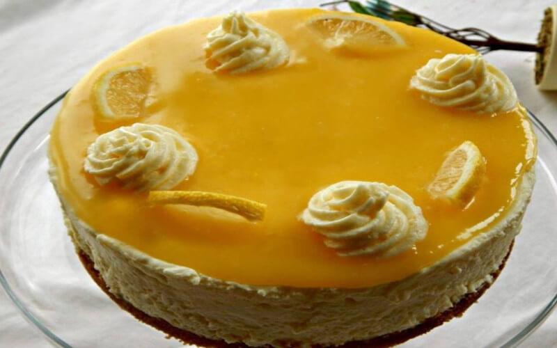 Gâteau mousse au citron facile et rapide