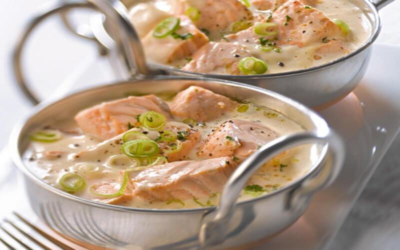 blanquette de saumon recette classique