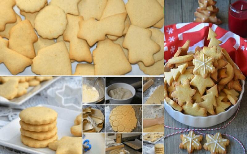 Recette Sablés au beurre de Noël (Butterbredeles)