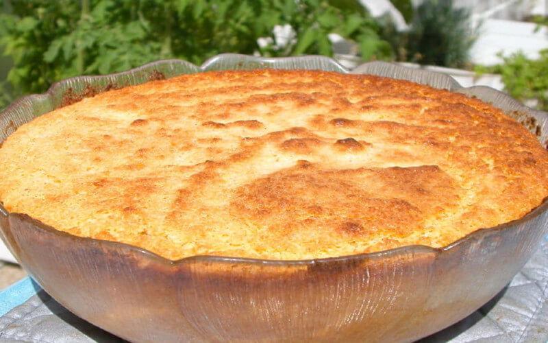 Soufflé aux pommes à la cannelle dessert léger