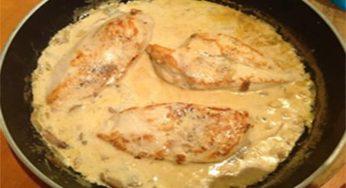 Côtes de porc sauce moutarde recette rapide