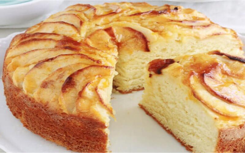 Gâteau au yaourt aux pommes, fondant et hyper moelleux