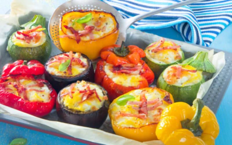 Idée recette légumes farcis pour des assiettes colorées