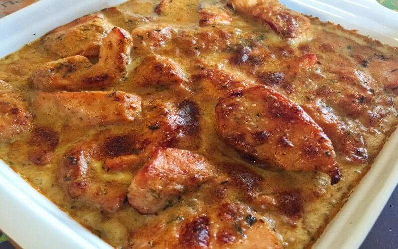 Poulet Gaston Gérard plat traditionnel bourguignon
