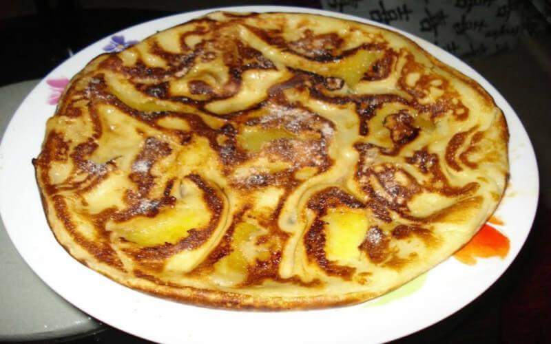 Sanciaux du Berry ou la crêpe aux pommes