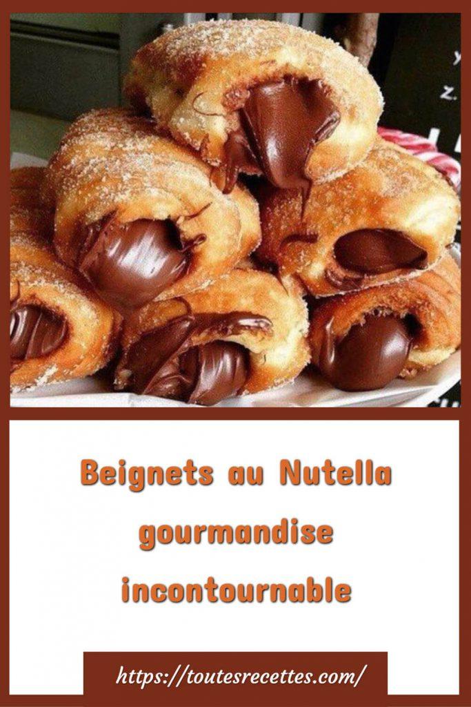 Comment préparer les Beignets au Nutella