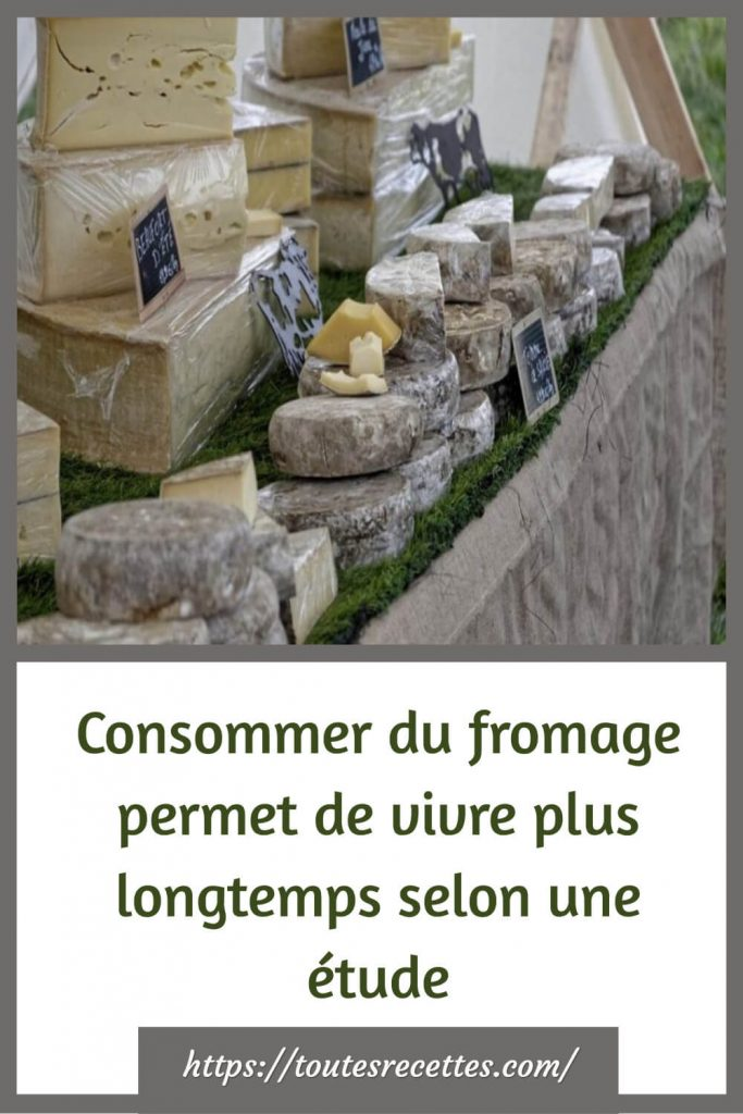 Consommer du fromage permet de vivre plus longtemps selon une étude!