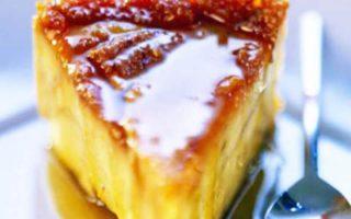Flan de semoule au caramel très délicieux