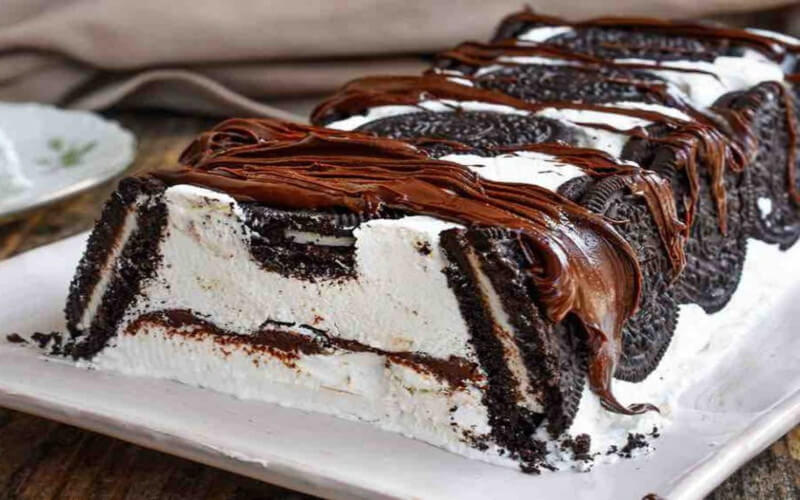 Gâteau Oreo au Nutella et à la crème de lait