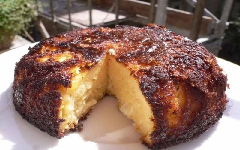 Gâteau au fromage blanc et au citron rafraîchissant