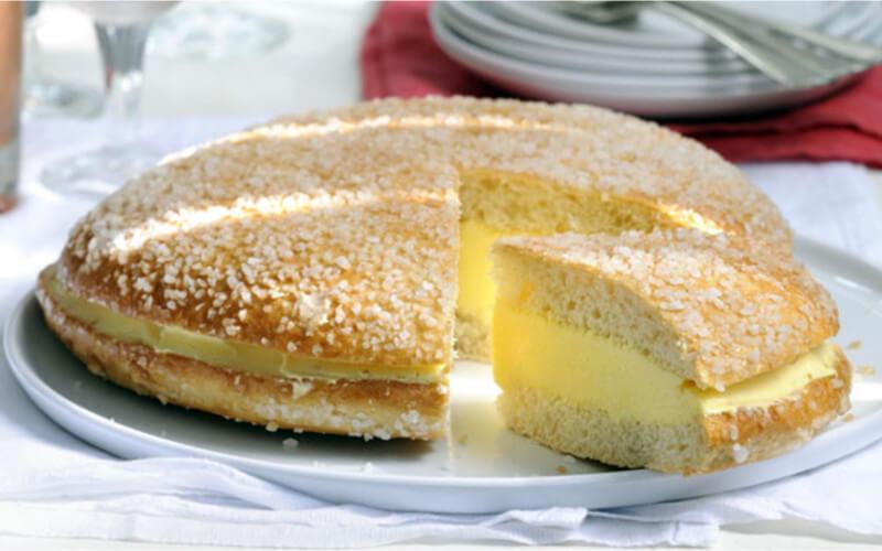 La vraie tarte tropézienne très gourmande