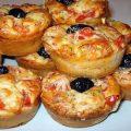 Muffins salés façon pizza recette savoureuse et légère
