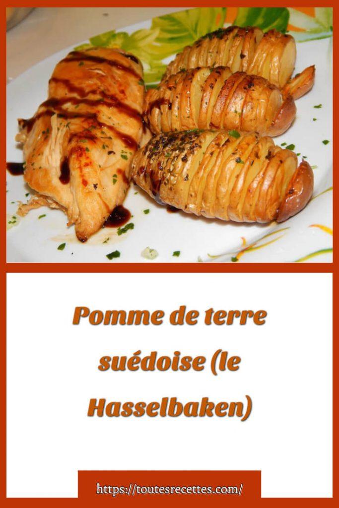 Comment préparer les Pommes de terre suédoise (le Hasselbaken)