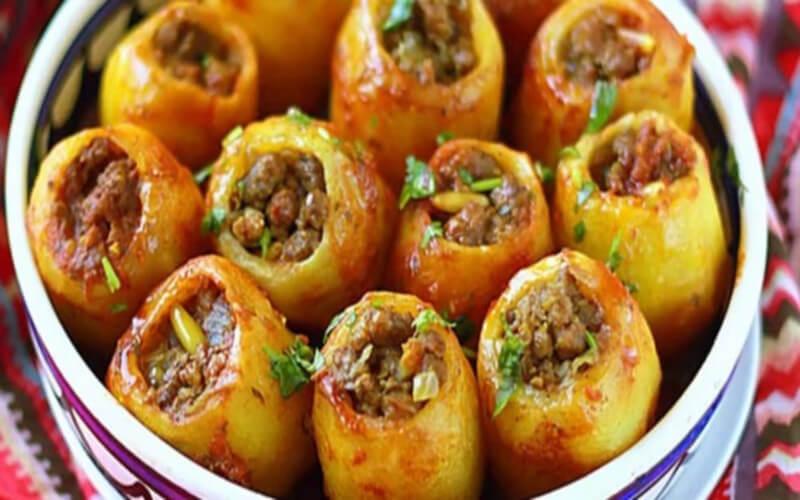Pommes de terre Farcies très délicieuses