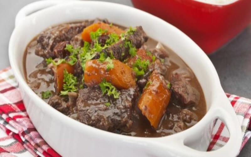 Ragoût de boeuf carottes recette familiale pas chère