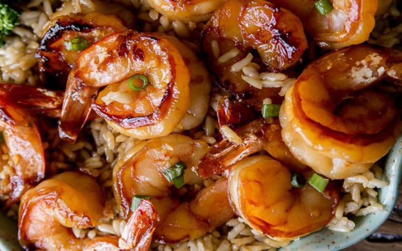 Crevettes à l'Ail et au Miel Prêtes en 20 minutes
