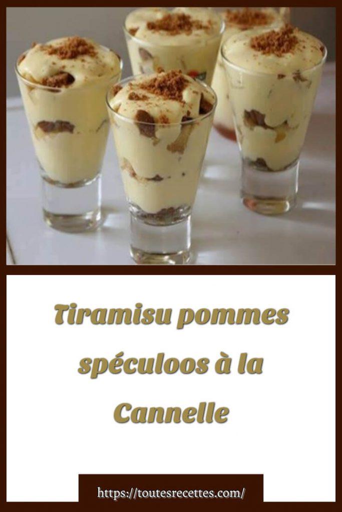 Comment préparer le Tiramisu pommes spéculoos à la Cannelle