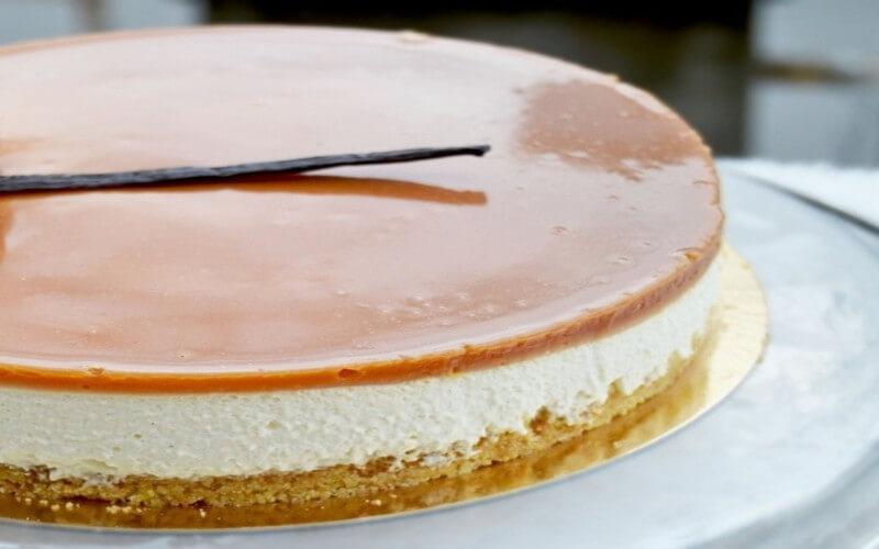 Bavarois vanille caramel dessert gourmand
