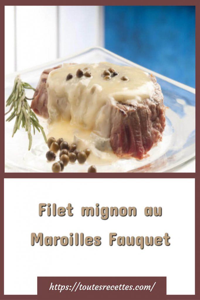 Comment préparer le Filet mignon au Maroilles Fauquet