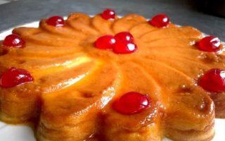 Flan au mascarpone au caramel dessert original