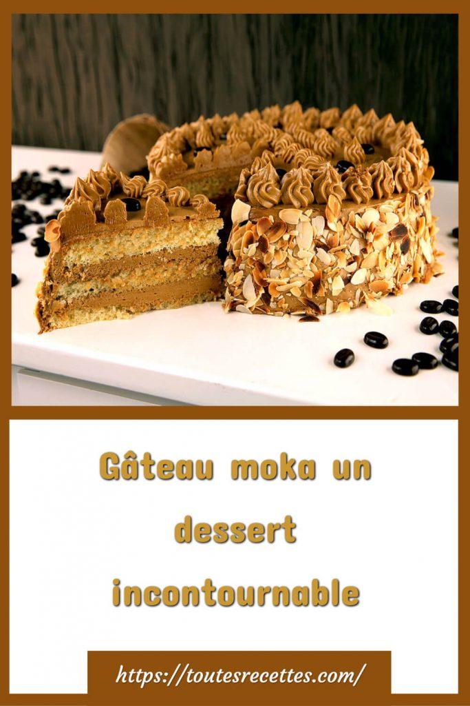 Comment préparer le Gâteau moka