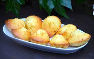 Madeleine au citron de Cyril Lignac recette fabuleuse