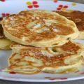 Pancakes aux pommes sans sucre moelleux