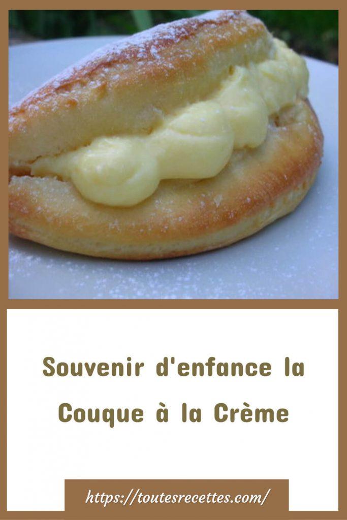 Comment préparer la Couque à la Crème