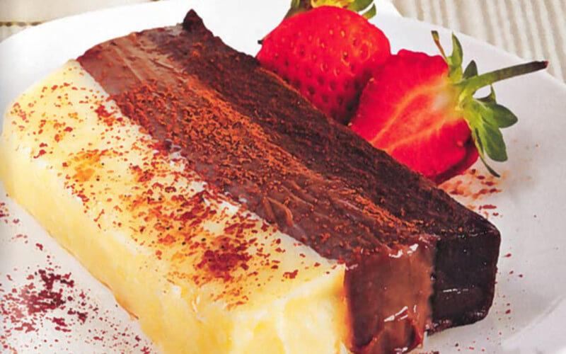 Terrine aux trois chocolats recette gourmande