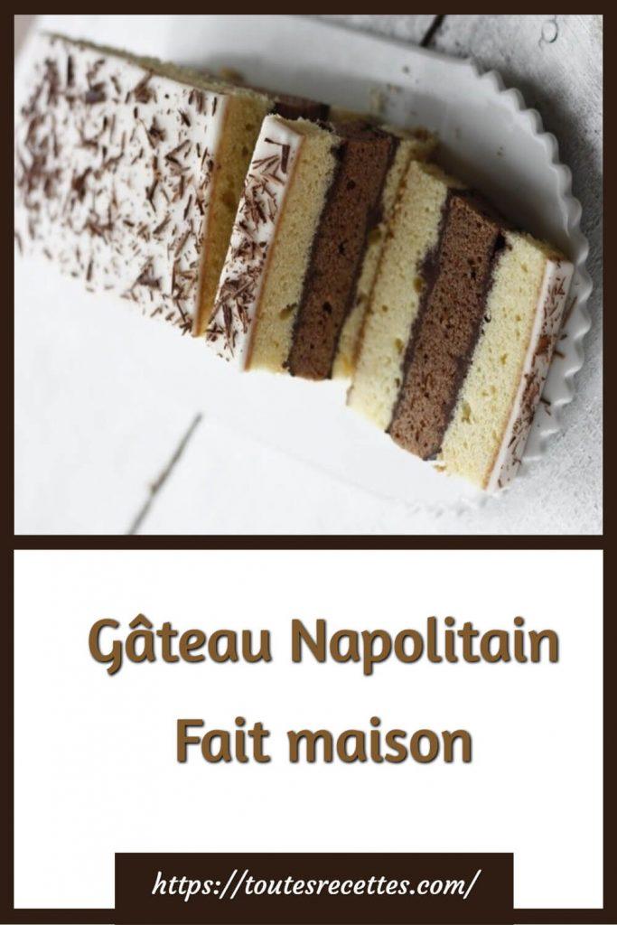 Comment préparer le Gâteau Napolitain Fait maison