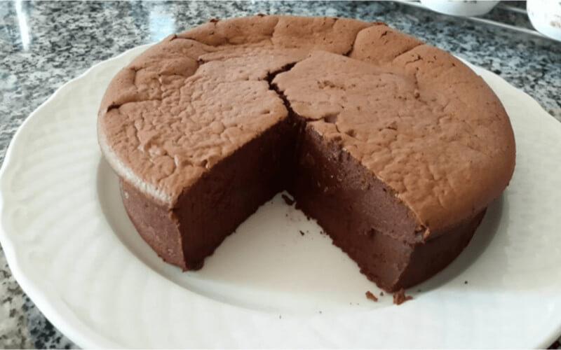 Gâteau au mascarpone et chocolat sans beurre