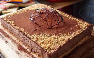 Gâteau magique au chocolat et cacao