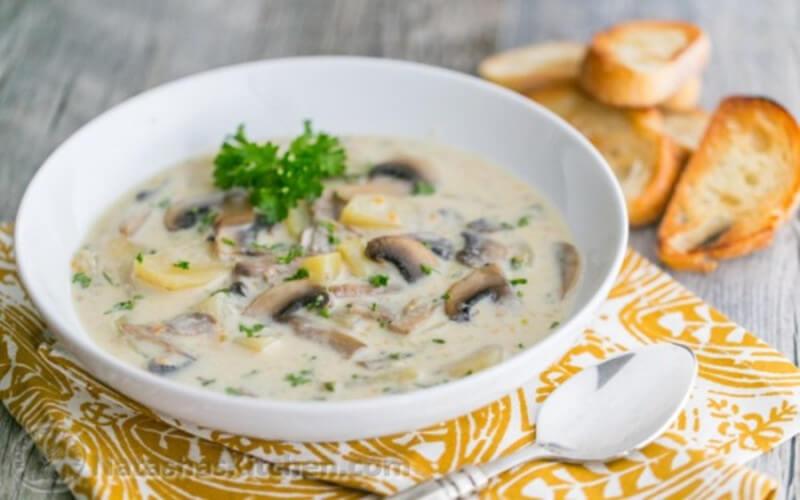 La meilleure soupe aux champignons