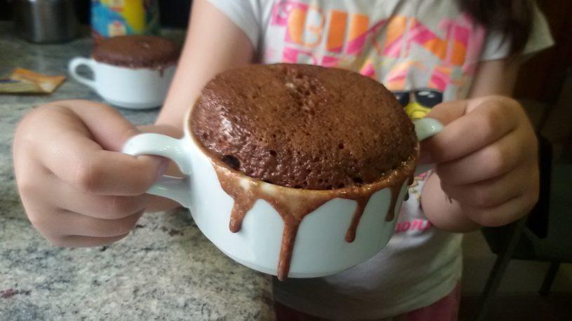 Mug cake au chocolat en 5 minutes