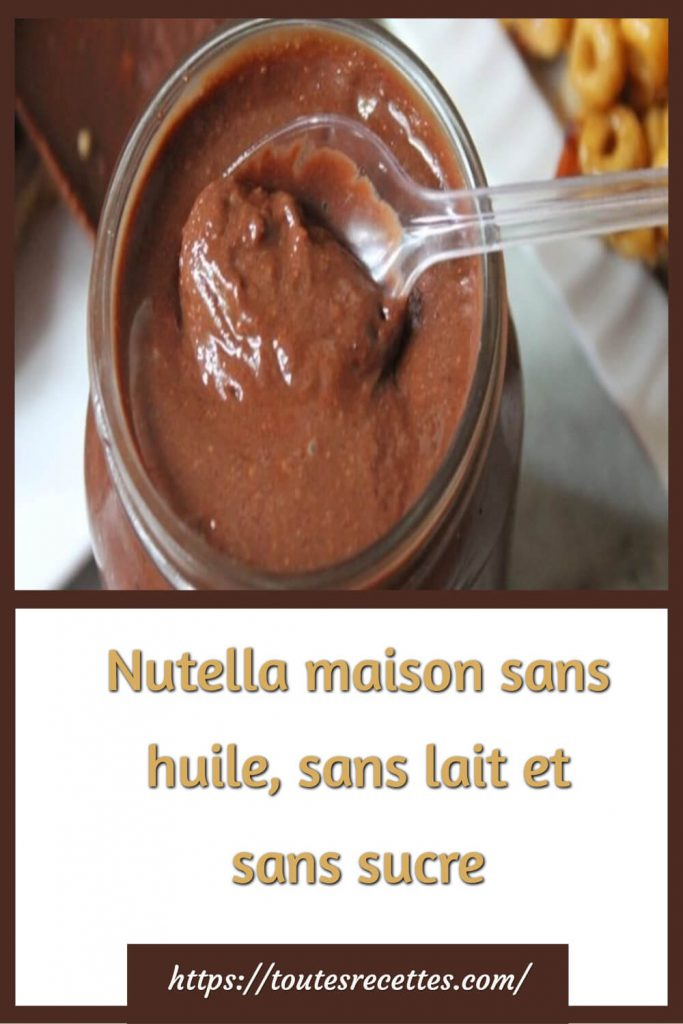 Comment préparer le Nutella végétalien fait maison